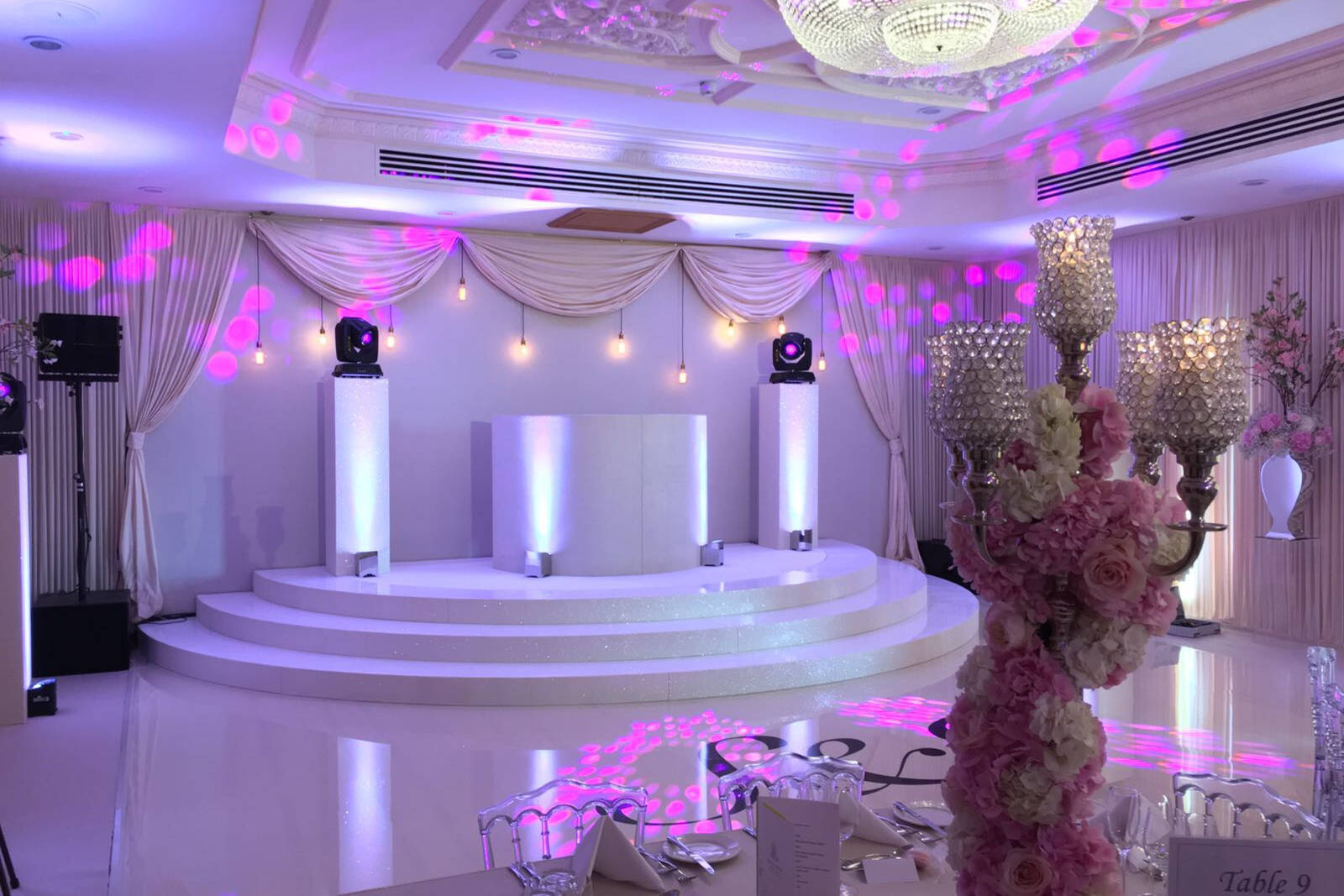 Individual Guide On Indoor Stage Hire