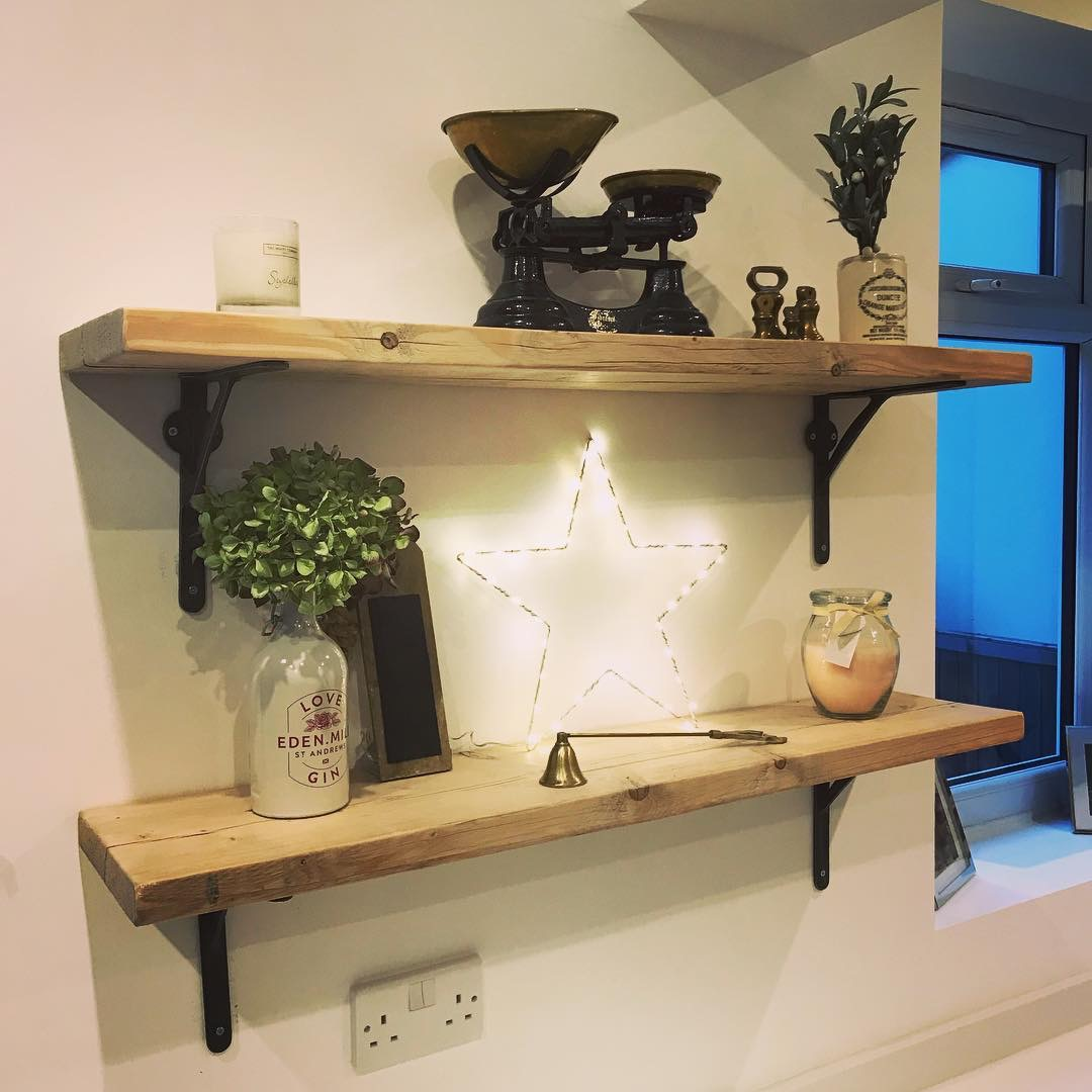 Features About Wooden Mantel Shelf