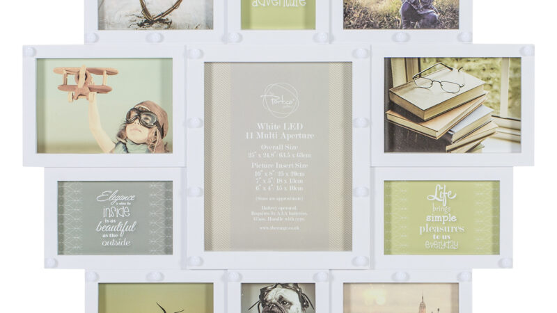 All You Have To Know About The Wooden Multi Photo Frame